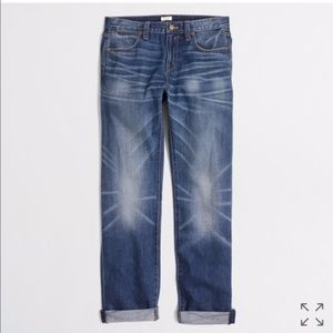 J. Crew Boyfriend Jeans in Field Wash